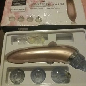 Acne pore cleansing instrument